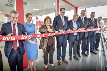 AVIS Costa Rica Inaugurates an environmentally friendly airport office