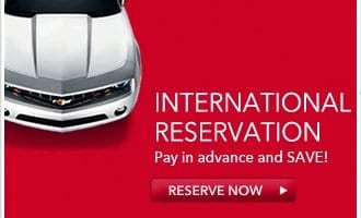 International Reservations, pay in advance an save, book now