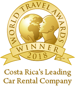 costa ricas leading car rental company 2018 winner shield 256
